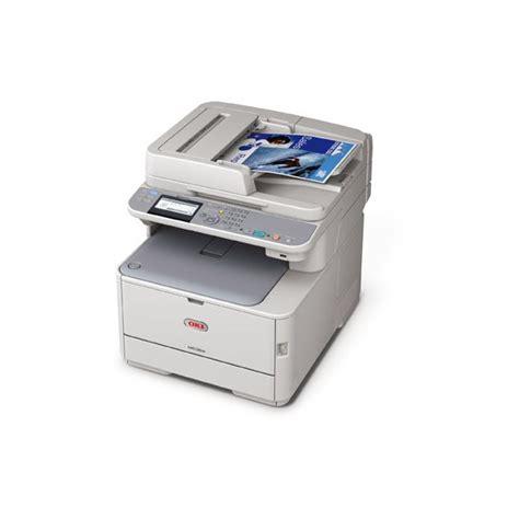 Printer Laser Duplex oki mc362dn duplex network color laser multifunction printer 1200x600dpi 22ppm printer