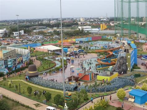 theme parks chennai panoramio photo of an aerial view of evp theme park