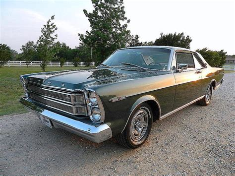 1966 Ford Galaxie 500 1966 Ford Galaxie 500 Xl 2 Door Coupe 133056