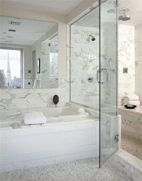 marble tile bathroom ideas carrara marble calcutta marble glass mosaic tiles design ideas