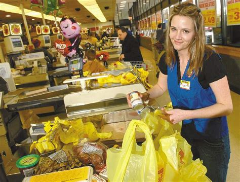 bragging rights shoprite s karianne sullivan one of the fastest grocery baggers in the nation