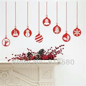 aliexpress com buy free shipping home decor christmas large creative christmas tree snowflake wall sticker for