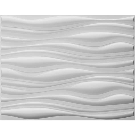 Peel And Stick Wallpaper Tiles three d wall wave tile plant fiber panel off white set of