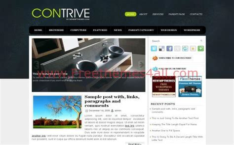 wordpress themes free blue green blue dark free wordpress theme download