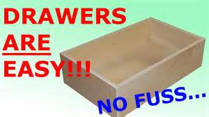 how to make easy simple drawers