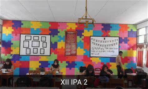 dekorasi ruang kelas  kreatif menarik  keren