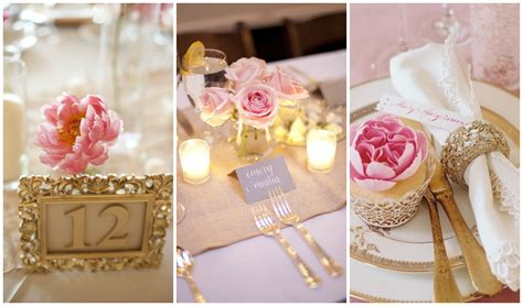 Wedding Theme Idea Pink And Gold Our One 5 by Blush Pink And Gold Wedding Inspiration One Charming Day