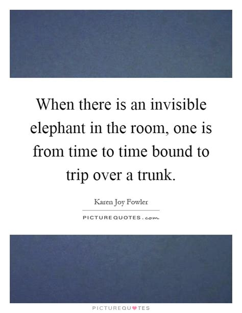Elephant In The Room Lyrics by When There Is An Invisible Elephant In The Room One Is