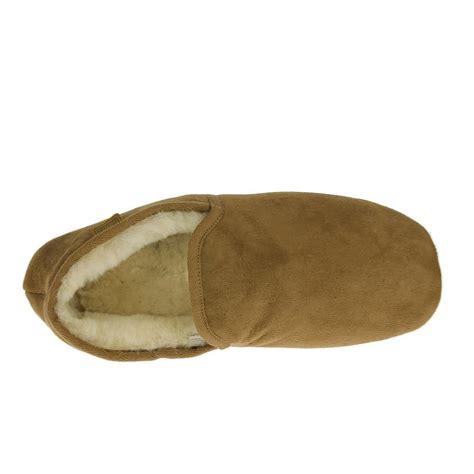 just sheepskin mens slipper boots just sheepskin mens slipper garrick chestnut free delivery