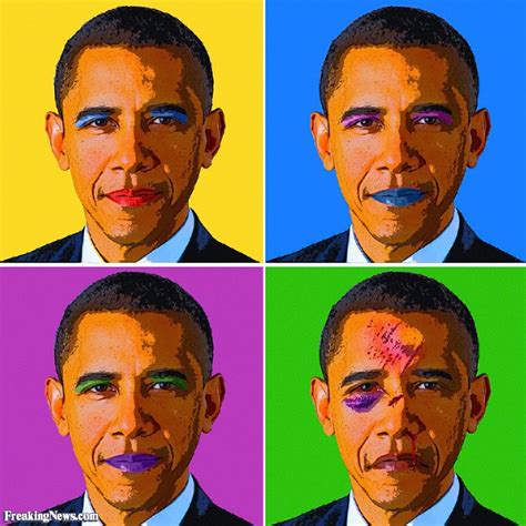 Oval Office Trump barack obama pop art pictures freaking news