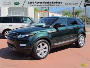 2012 kosrae green metallic land rover range rover evoque