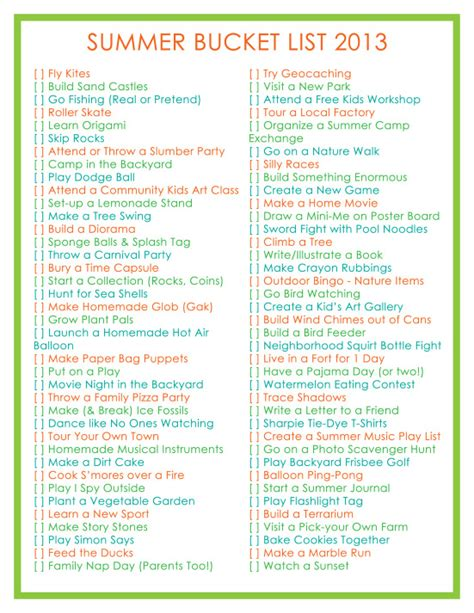 21 cool summer activities for boredom busters tip junkie