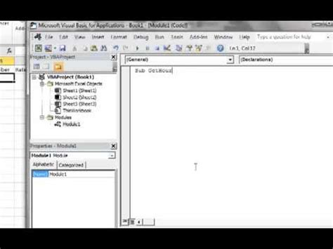tutorial excel 2010 vba excel 2010 vba tutorial 6 creating user input message box