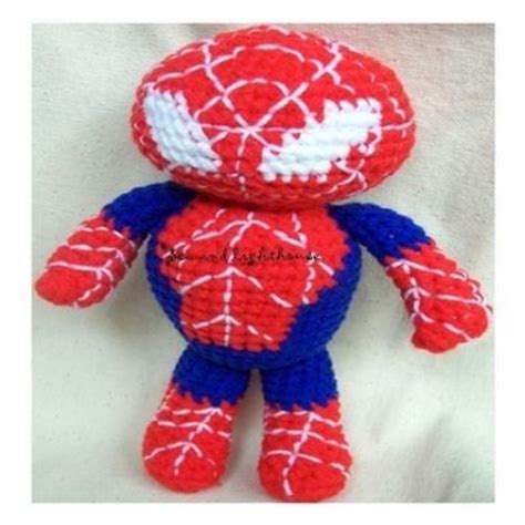 spiderman plush pattern amigurumi cute crochet toys and carfts shop amigurumi