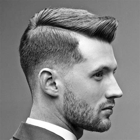 how to give a gentlemans cut the side part haircut a classic gentleman s hairstyle