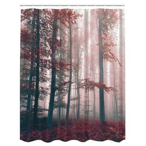 fabric tree shower curtain us waterproof bathroom shower curtain fabric animal