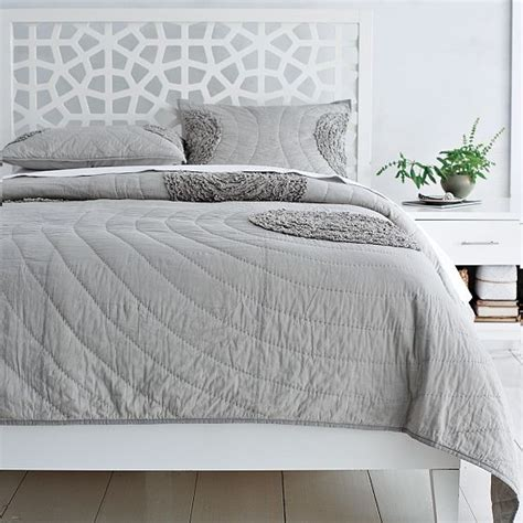 Morrocan Headboard by Morocco Headboard Modern Headboards By West Elm