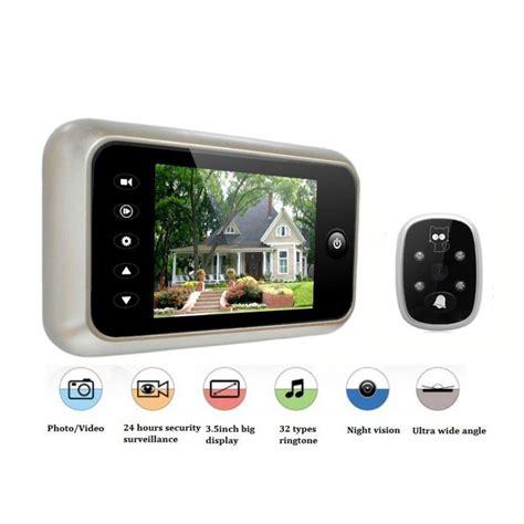 Door Peephole Wifi by 3 5 Quot Lcd Color Screen Doorbell Viewer Wireless Door Peephole Photo Recording Door