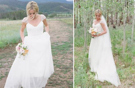Getting Modest Look With Beaded Wedding Dresses With