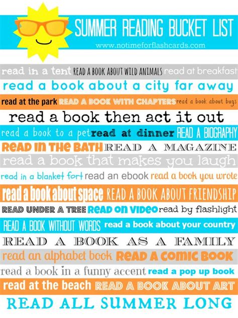 reading themes list 141 best images about summer bucket list ideas on