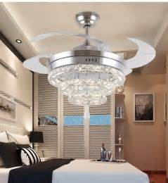 fans with lights for living room led crystal chandelier fan lights chandelier fan crystal lights living room minimalist