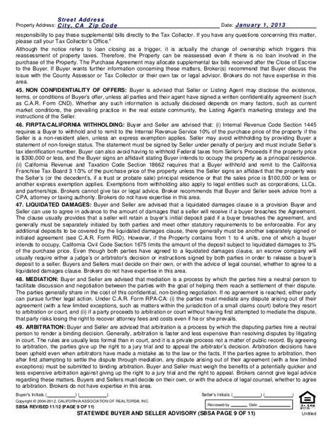 2 supplemental tax bills sbsa statewide buyer and seller advisory 1112