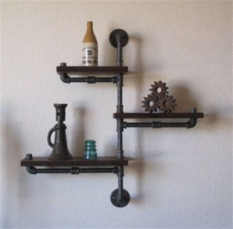 25 best ideas about galvanized pipe shelves on