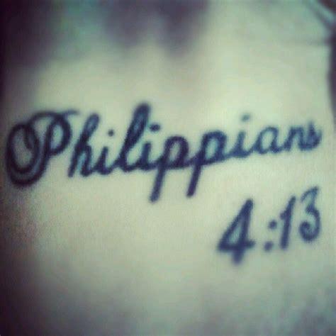 philippians 4 13 tattoo philippians 4 13 tattoos