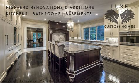 renovations additions luxe custom homes renovations