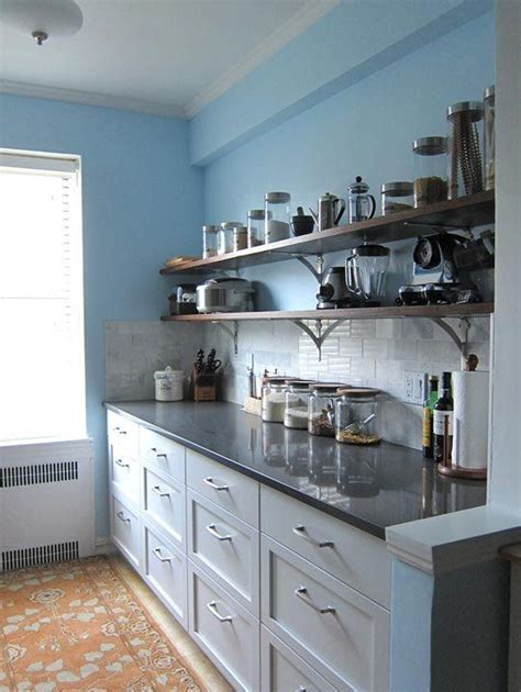 galley kitchen makeovers before and after before after galley kitchen gets budget makeover