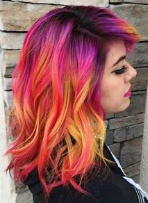 colored hair 25 best ideas about bright hair colors on