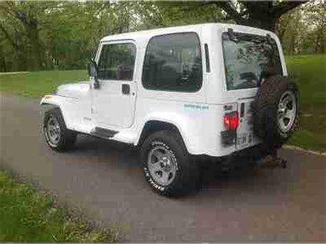 1995 Jeep Wrangler Top Sell Used 1995 Jeep Wrangler Se Top Working A C