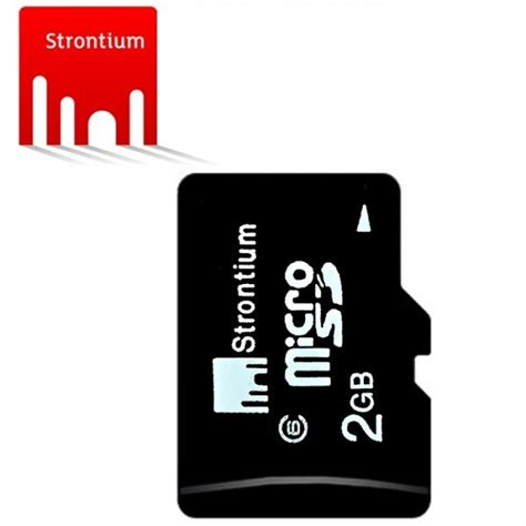 Strontium Basic 2gb Microsdhc Class 10 With Sd Adapter strontium basic microsdhc class 6 2gb with sd adapter