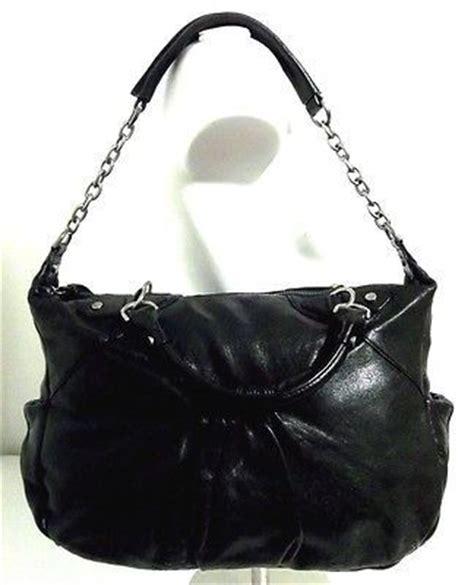 Botkier Medium Patent Leather Handbag by Awesome Botkier Glossy Black Leather Medium Pleat Zip Top
