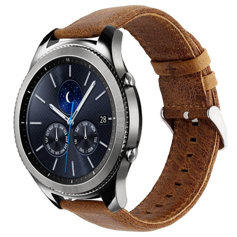 Leather Band For Samsung Gear S3 With Release best leather bands for samsung gear s3 xwn2