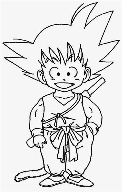 imagenes para pintar a goku goku para pintar dibujos de