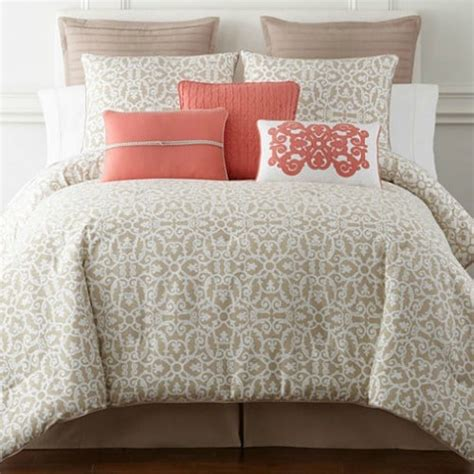 jcpenney clearance comforter sets jcpenney com jcpenney home 4 pc comforter set full 53