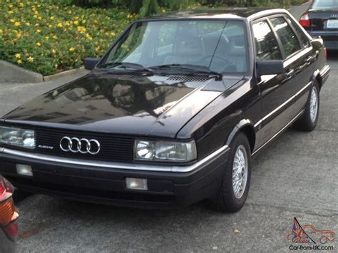 where to buy car manuals 1987 audi 4000cs quattro engine control service manual problems removing a 1987 audi 4000 motor audi 4000 quattro coupe gt vw tdi v
