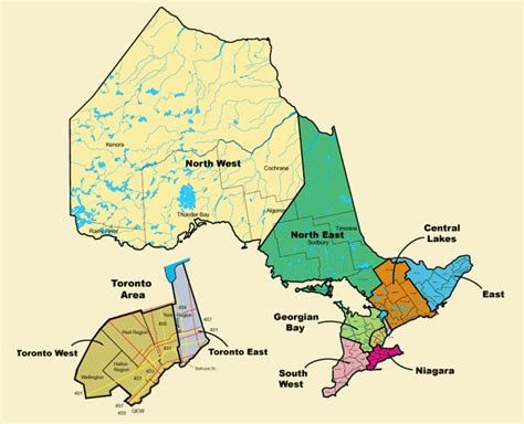 map of ontario and canada maps of canada provinces political and territories