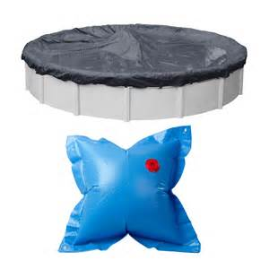 21 above ground swimming pool winter cover 4 x4 air closing pillow ebay