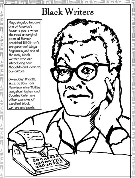 incredible black history month coloring pages intended to