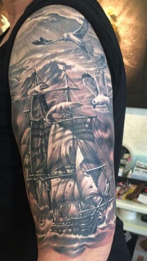tall ship tattoo designs 30 ship tattoos tattoofanblog