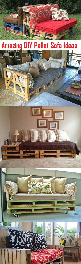 these 9 diy home decor ideas make your home beautiful amazing diy pallet sofa plans and ideas make your own
