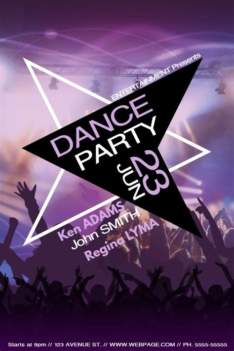 Party Flyer Design Templates