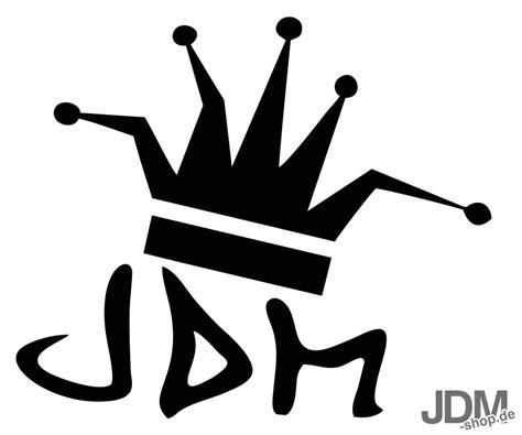 Cing Aufkleber jdm king aufkleber
