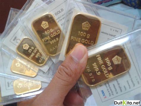 Logam Mulia 5 Gr Ubs Berkualitas menariknya harga emas batangan pegadaian sebagai tabungan
