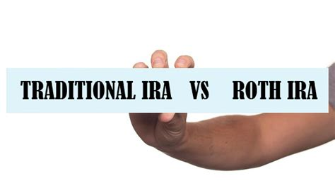 traditional ira or roth traditional ira vs roth ira self directed retirement