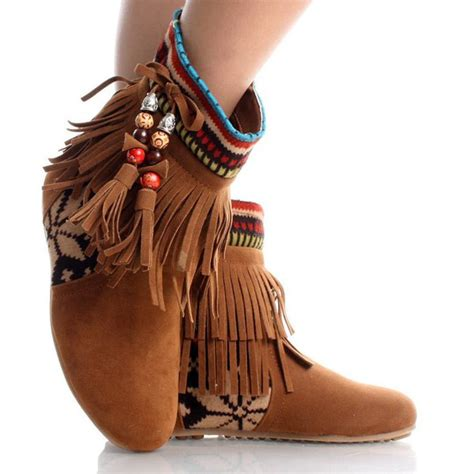 tribal pattern boots shoes bohemian boots boho tribal pattern wheretoget