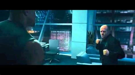 fast and furious jason statham scene jason statham vs the rock full fight scene in fast and