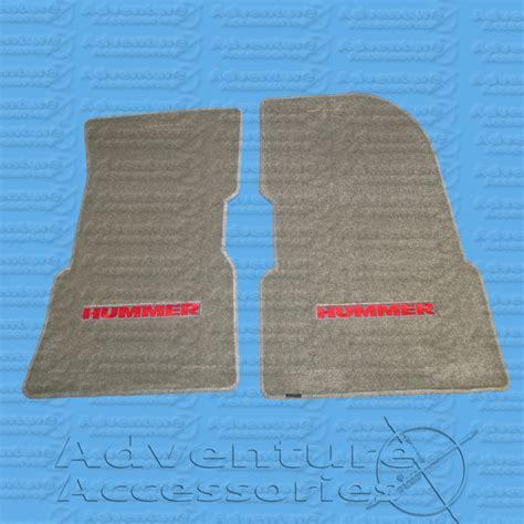 1 Front Floor Mats - hummer h1 premium front floor mats w logo